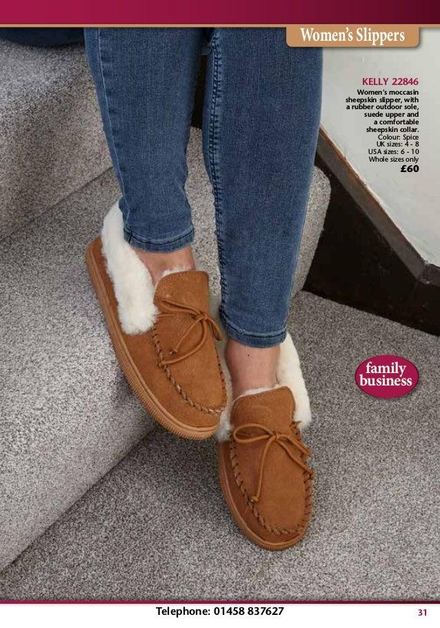 ca8815ca63b ... Women s Slippers  31. KELLY 22846 Women s moccasin sheepskin slipper