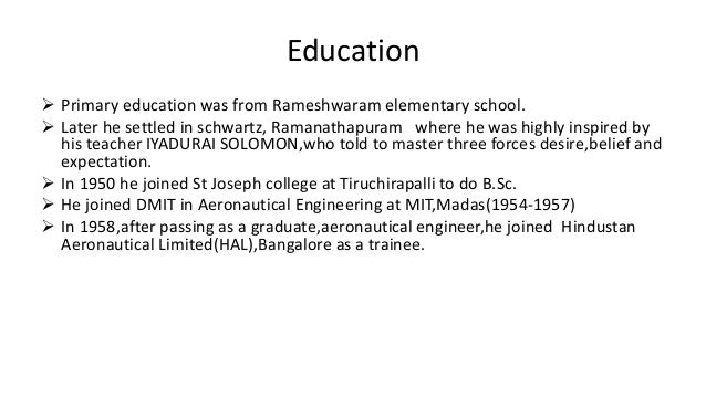 abdul kalam graduated in physics from st joseph s college tiruchirapalli Fr ladislaus chinnadurai, who taught physics to kalam at st joseph's college in tiruchirapalli, told the media that his illustrious student learnt modern physics which helped him do research.
