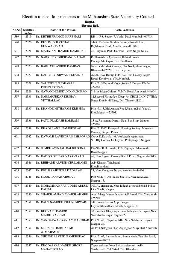 Dr Archana Dhawan Bajaj Electoral Roll