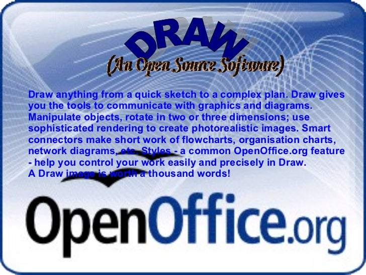 DRAW Draw anything from a quick sketch to a complex plan. Draw gives you the tools to communicate with graphics and diagra...