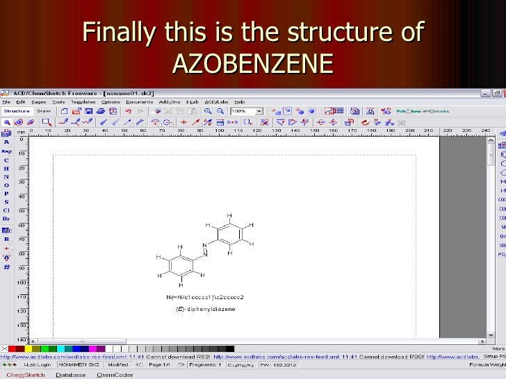 draw chemical structures software free download