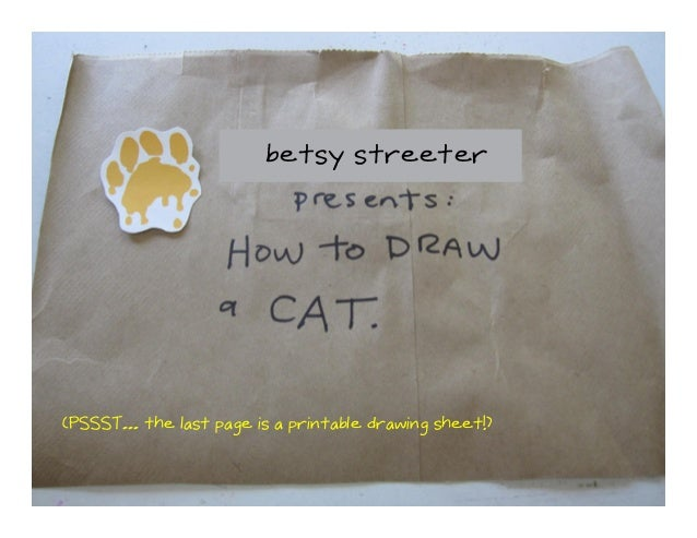 A drawing lesson by Betsy Streeter for DroolyDog.org.For more information, visit the site!