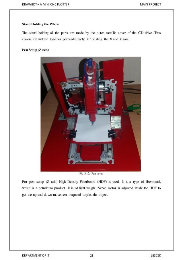 DrawBot - Android Thing CNC Plotter