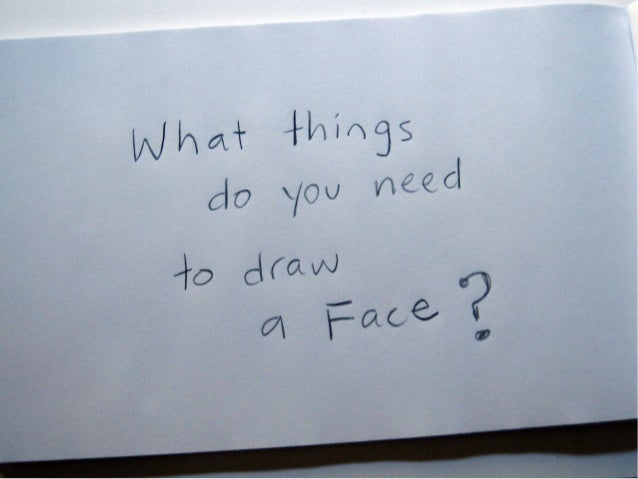 Draw Faces Your Own Way Slide 2