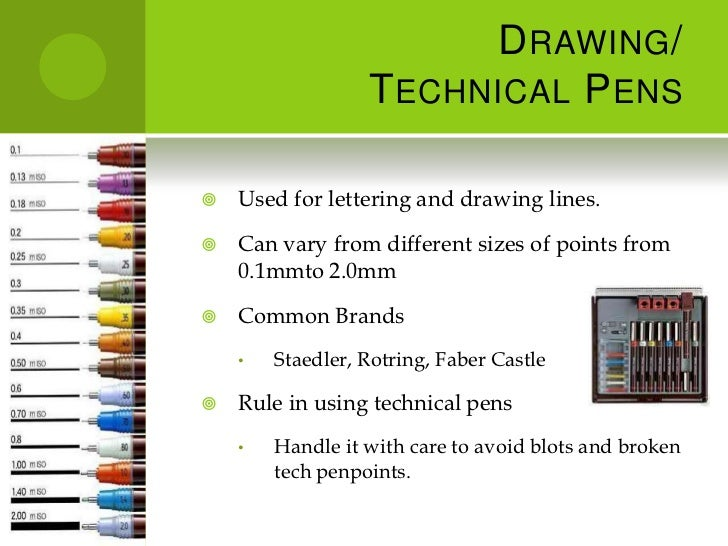Drawing Various Types Of Lines Using In Instrumentation Field : D r a w i n g s t u m e l and