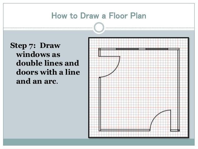 Drawing a floor plan