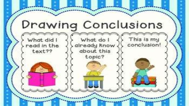 Drawing Conclusions Anchor Chart | Teaching Upper Elementary ...
