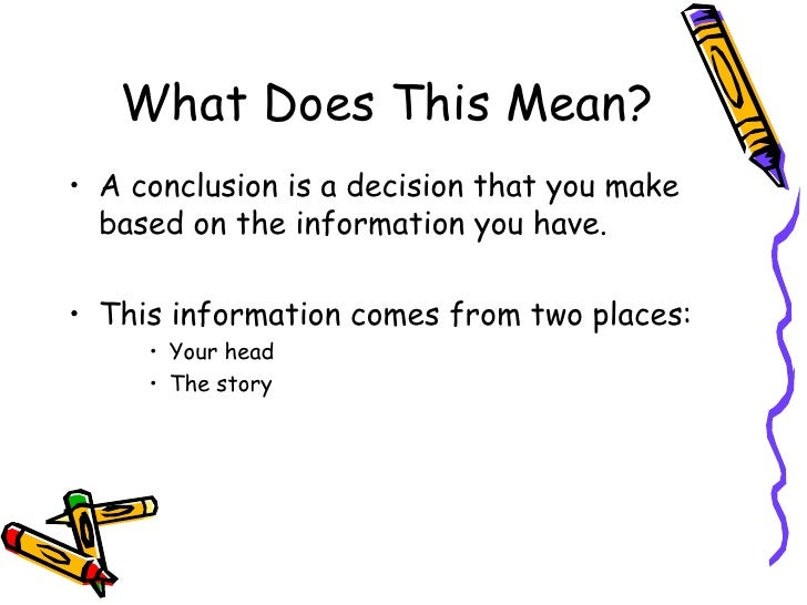 Drawing conclusions powerpoint – Drawing Conclusion Worksheets