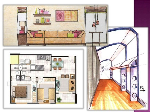 Drawing for interior design for Interior designs drawings