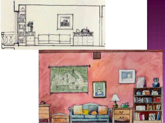 13 The Drawings Interior Design Drawing