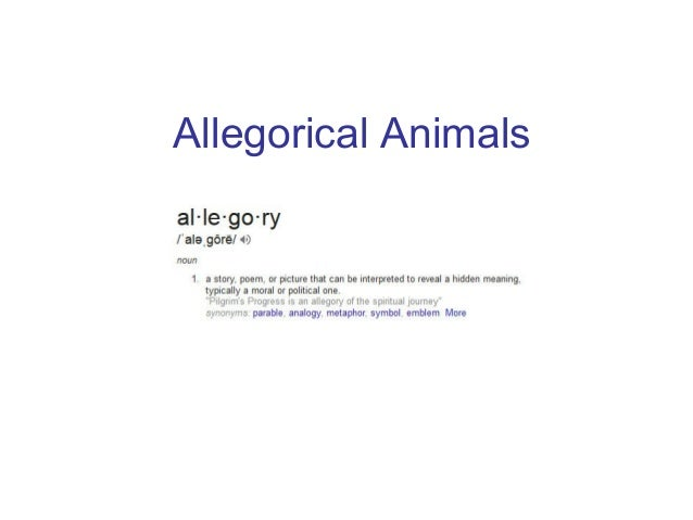 Allegorical Animals