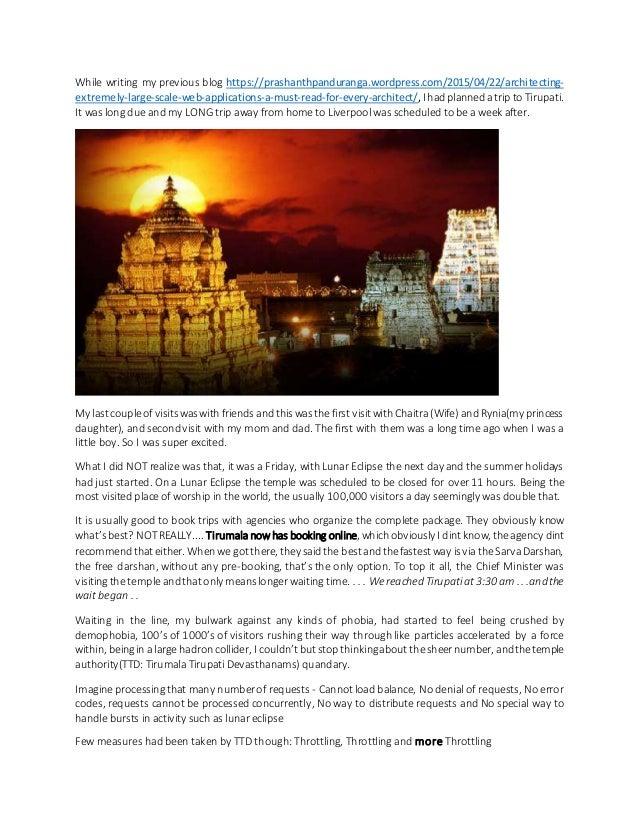 While writing my previous blog https://prashanthpanduranga.wordpress.com/2015/04/22/architecting- extremely-large-scale-we...