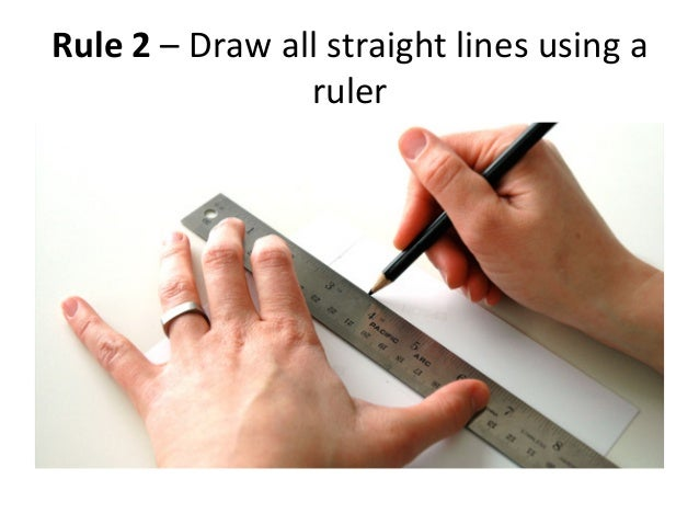 how to draw a scientific diagram