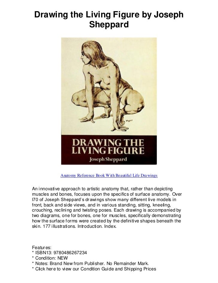 Drawing the living figure by joseph sheppard just what you need