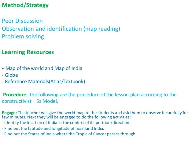 Geography Pedagogy - Constructivist Approaches in Geography