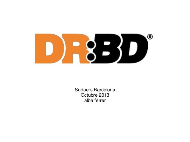 Sudoers Barcelona Octubre 2013 alba ferrer