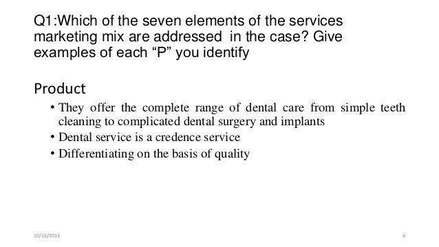 dr beckett s dental office case Free essay: laserna, kris marie r exserves| dr beckett's dental office case study questions: 1 which of the eight elements of the services marketing mix.