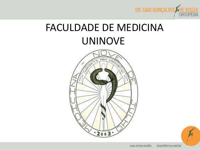 FACULDADE DE MEDICINA  UNINOVE
