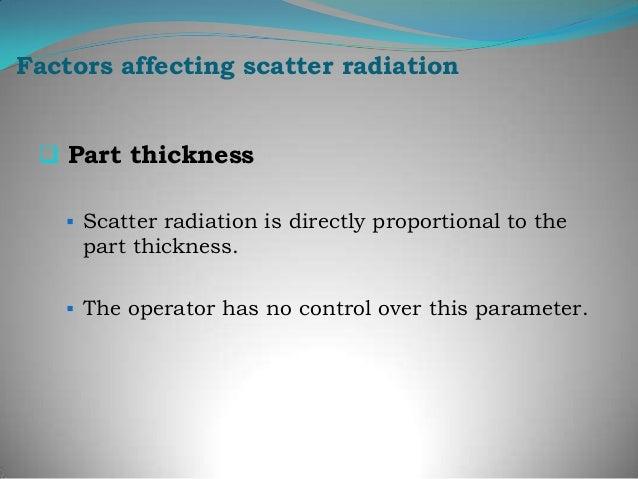 "Control of scatter radiationBackscatter : ""B"" is industrycode.Lead ""B"" behind cassette toassess backscatter.If the letter ..."