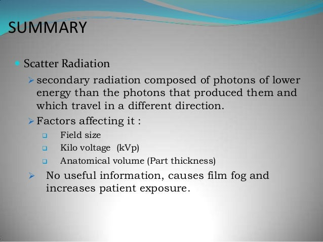 physical interaction of x ray with matter