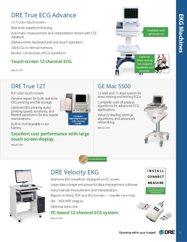 Dre 2015 2016 Medical Equipment Catalog