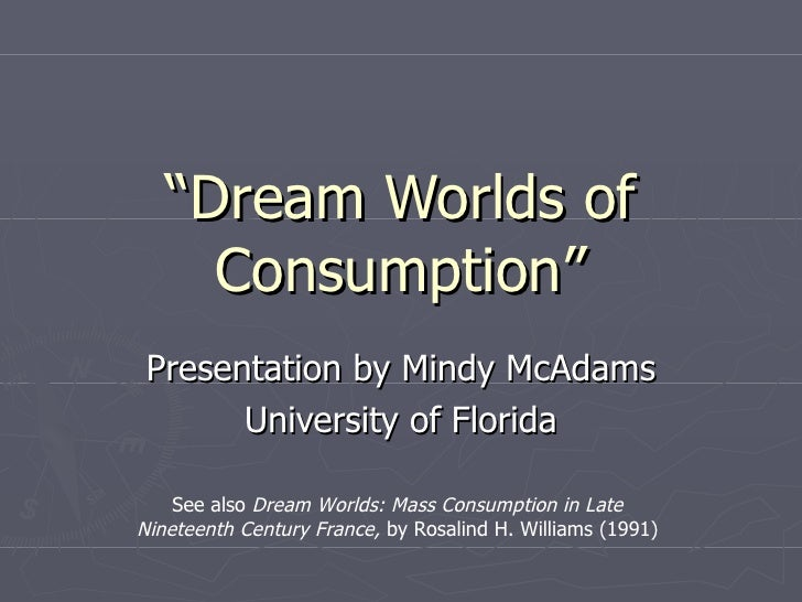 A dream of consumption 04 2