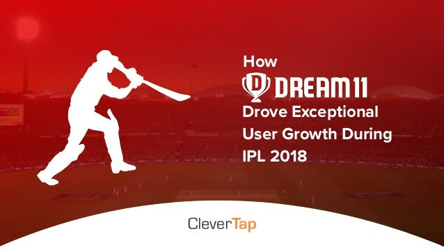 Drove Exceptional User Growth During IPL 2018 How