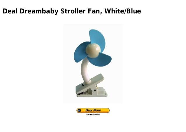 DreamBaby Stroller Fan White//Blue