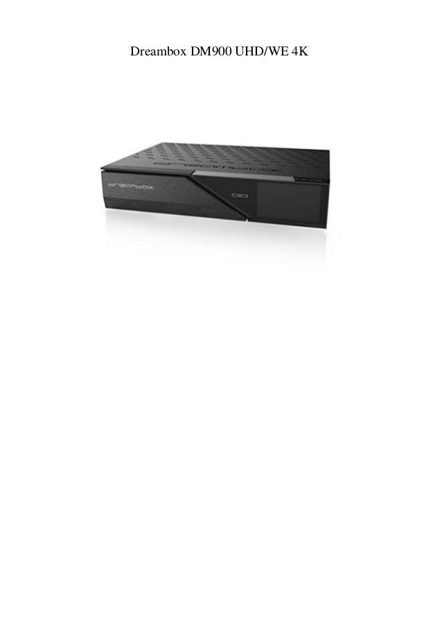Dreambox DM900 UHDWE 4K
