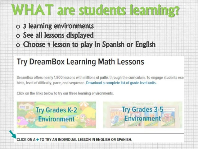 WHAT are students learning?