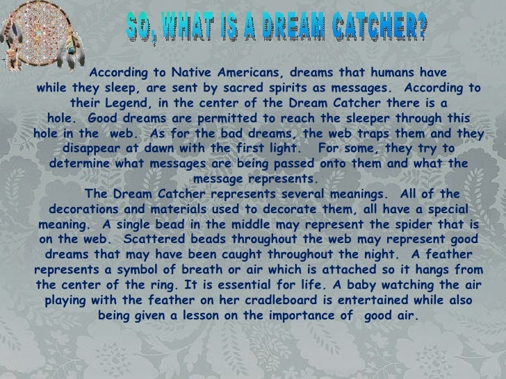 History Of Dream Catchers For Kids Dreamcatcher 7