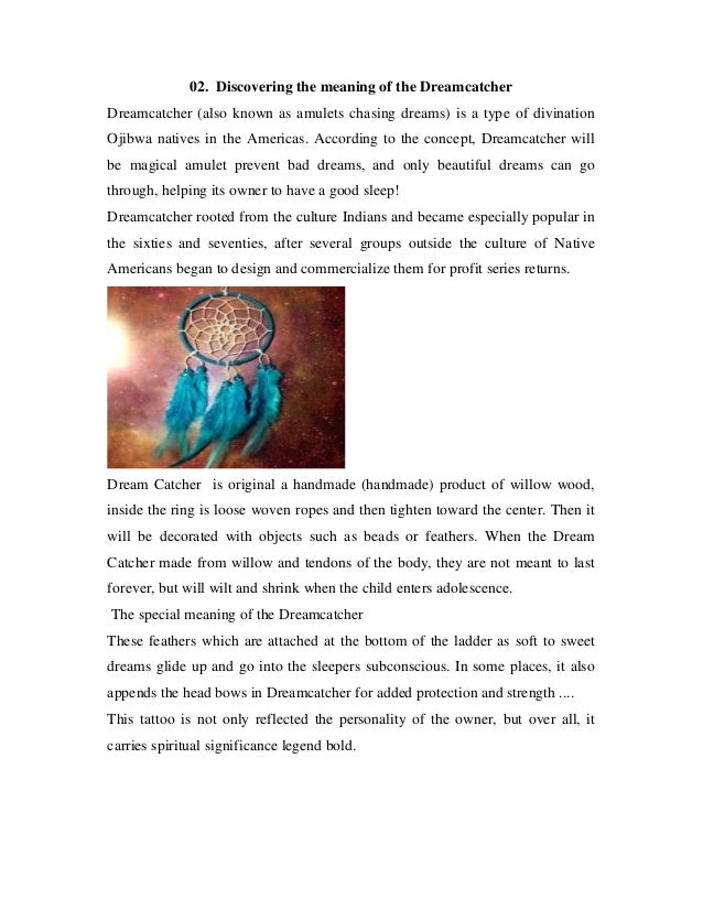Dream Catchers And Their Meanings Dreamcatcher meaning 20