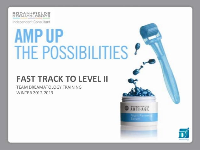 FAST TRACK TO LEVEL IITEAM DREAMATOLOGY TRAININGWINTER 2012-2013