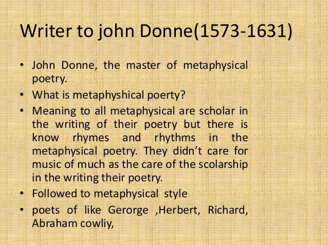 John Donne The Flea