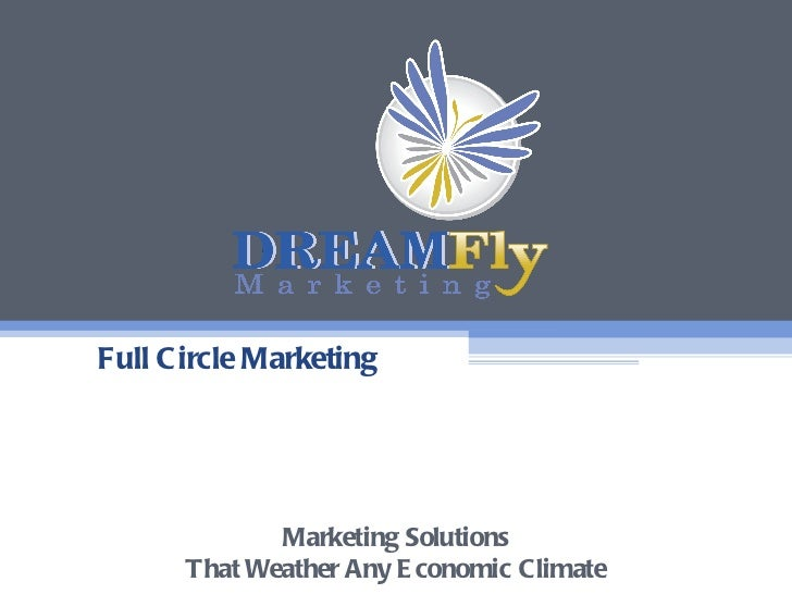 Full Circle Marketing Marketing Solutions That Weather Any Economic Climate
