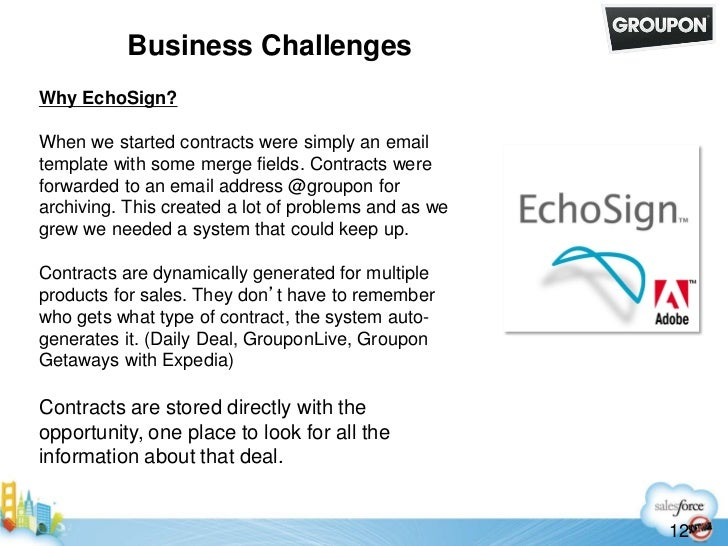 How Facebook, Groupon and Pandora use EchoSign E-Signature