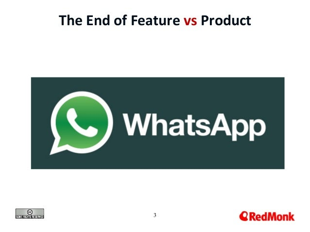 3 The End of Feature vs Product