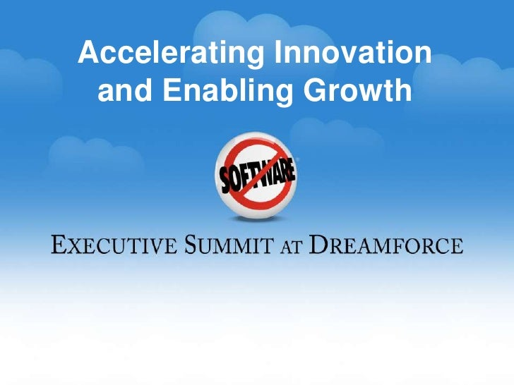 Accelerating Innovation<br />andEnabling Growth<br />