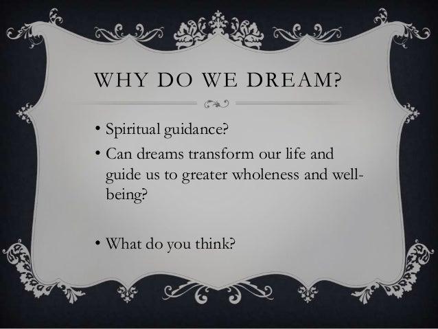 Psychology essay why do we dream