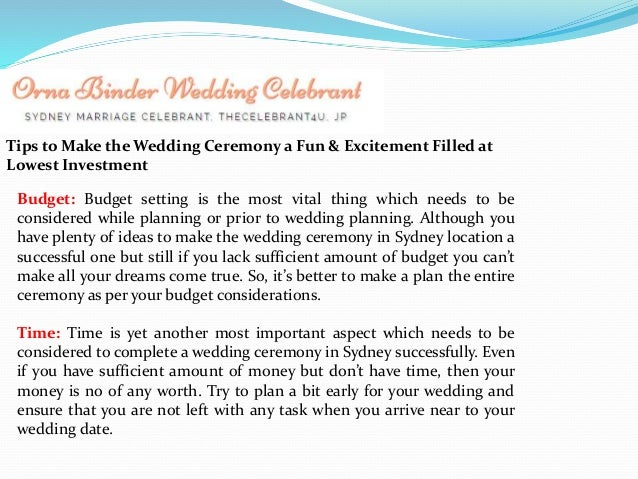 Dreaming Of An Alluring Wedding Ceremony To Organize In