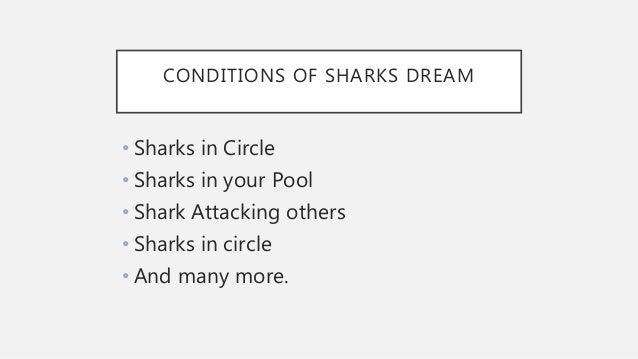 Dream interpretation sharks