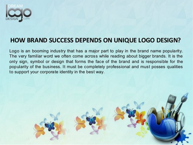 Logo is an booming industry that has a major part to play in the brand name popularity. The very familiar word we often co...