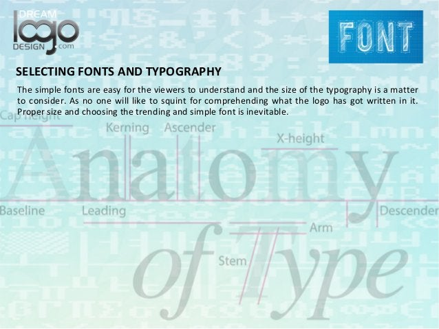 SELECTING FONTS AND TYPOGRAPHY The simple fonts are easy for the viewers to understand and the size of the typography is a...