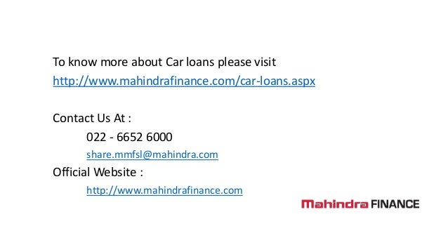 Dreams of Sunil Daweja Fullfiled With a Car Loan- Mahindra Finance (G…