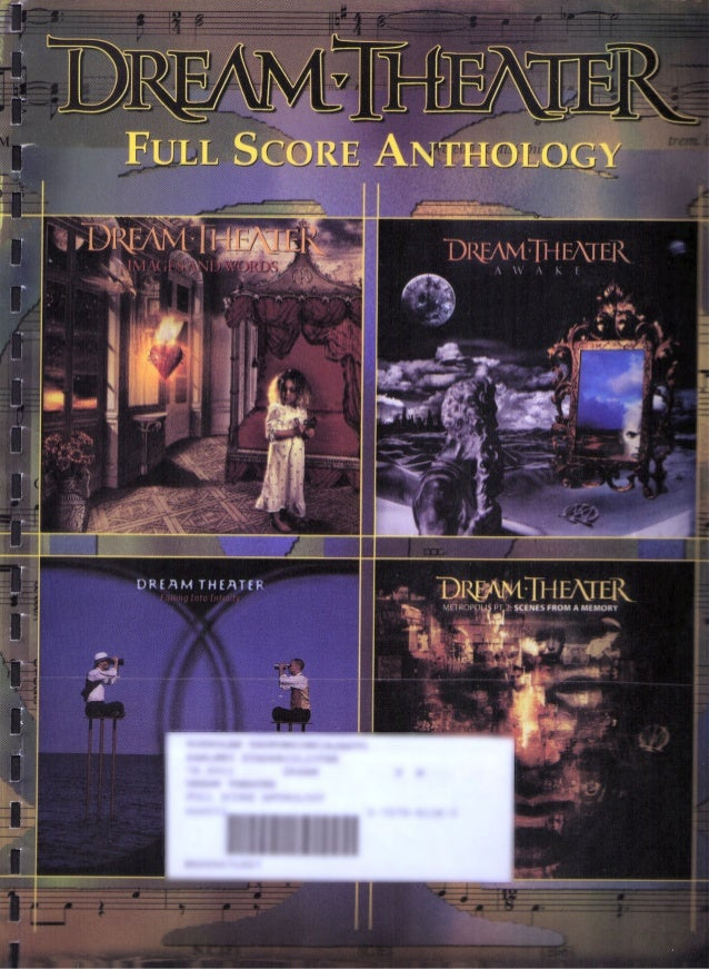Dream theater   full score anthology