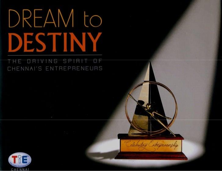 Dream to destiny   the driving spirit of chennai's entrepreneurs