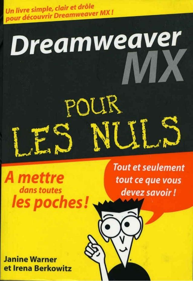 Dreamweaver.mx.pour.les.nuls