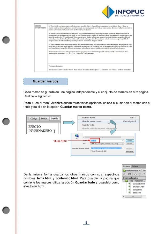 Dreamweaver - Fichas de Aprendizaje 2014