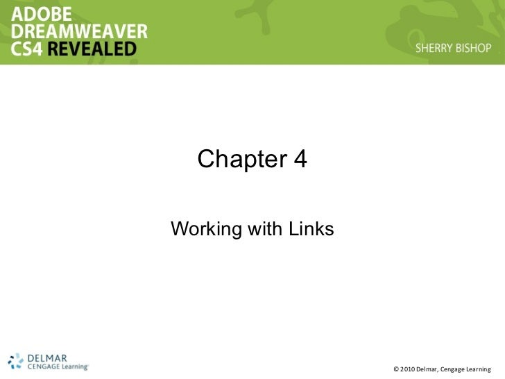 Chapter 4 Working with Links
