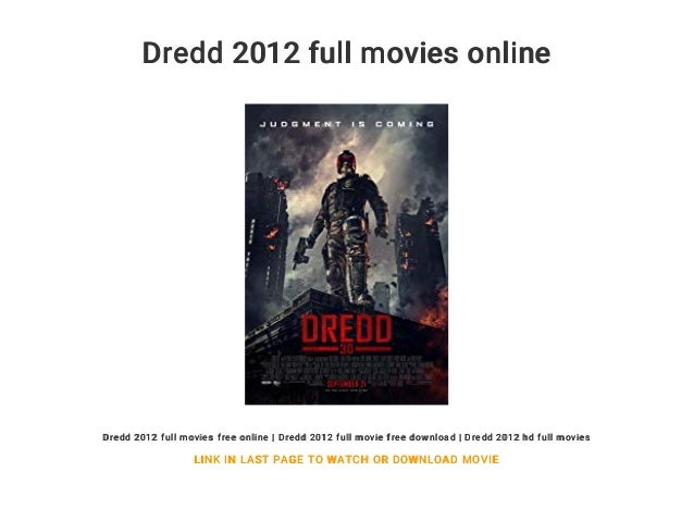 dredd full movie videobash